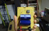 Lampe-torche rechargeable de condensateur poche