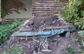 Maison de palette de hérisson (éventuellement combiner avec votre Compost)