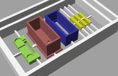 Faire en plastique modèles 3D à partir des dessins de CAO utilisant un automatisé « fraiseuse »