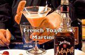 Yummy Français Toast Martini