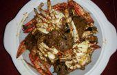 Comment faire cuire le crabe épicé sauce style Chettinad