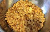Épicé grillé les graines de citrouille
