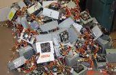 Nettoyage des vieux appareils électroniques