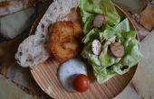 (végétarien/végétalien) céleri-rave-schnitzel
