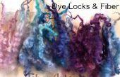 Serrures de toutes les couleurs ! La bouilloire teinture laine et fibre