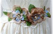 Fleur ceinture/diadème de mariage