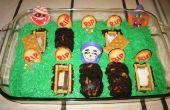 "Gâteau de ""brownie"" Graveyard Halloween"