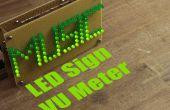 Faire votre propre VU-mètre LED Sign
