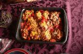 La nourriture arabe 102 - Beethnjaan - moyen-orientaux aubergine recette de plat