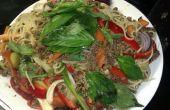 Spagetthai bolognaise - Spag bol avec une touche thaïlandaise.