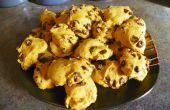 Citrouilles Cookies aux pépites de chocolat