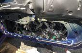 Comment installer son matériel de mouillage dans une Porsche 911
