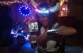 Costume de Viking bricolage LED espace