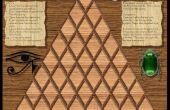 Jeu de société mathématique du Pharaon pyramide