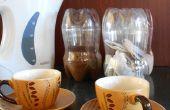 Bouteilles en plastique faire grand thé, sucre & café qui