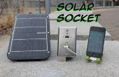 : USB d'urgence mur solaire solaire prise électrique