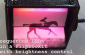 LED Flipbookit : plein contrôle de la couleur et la luminosité avec un Arduino