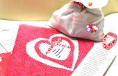 Faire un Brave la météo Saint Valentin carte et le cadeau et le vont visiter les malades