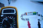 Testeur de tension de batterie AA