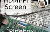 PInebox HDMI-Pi écran Mods