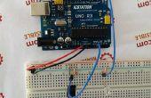 Allumer le système de contrôle de luminosité de capteur LED avec ATMEGA328 UNO V3.0 R3 pour Arduino
