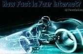 Comment faire pour vérifier votre vitesse d'Internet depuis votre bureau