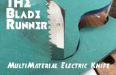 Le couteau électrique multi-matériaux Blade Runner