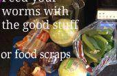 Faire de la nourriture de ver pour votre lombriculture