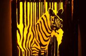 Wall Lamp (Zebra)
