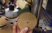 Poulie en bois sans un tour