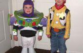 Buzz l'éclair et Woody costumes