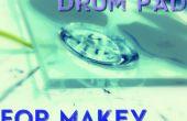 Drumpad hydrophobe, pour MaKey MaKey