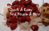 Rapides & faciles des haricots rouges et riz