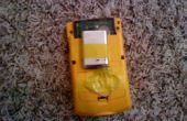 Faire un GBC courir avec une batterie PSP
