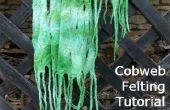 Partie 2 - Comment faire une écharpe feutrée de toile d'araignée