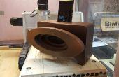 Téléphone passive Speaker - un projet de commande numérique par ordinateur
