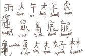 Comment écrire le chinois!!!