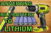 Mise à niveau de votre batterie de perceuse au Lithium gratuite