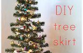 Comment faire une jupe d'arbre
