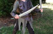 Tauriel (The Hobbit) dagues elfiques - rapide Cosplay en bois les accessoires