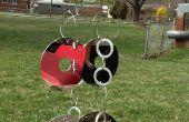Rémy de (recyclé HDD) carillon de vent