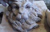 Comment sculpter une tête de Lion en argile