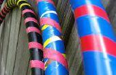Tuyau en PVC bricolage Hula Hoop