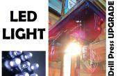 Perceuse à colonne LED lumineuse mise à niveau !
