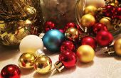 BRICOLAGE de verre pot de Noël pièce maîtresse