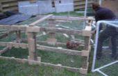 Transformer les vieilles palettes en un tracteur de poulet !