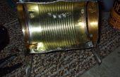 Comment faire une boîte de conserve piles led lampe de travail