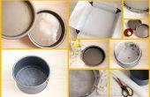 Comment préparer des boîtes de conserve/Cake moules à gâteaux