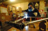 Construire une bicyclette raccords à l'aide d'un CNC routé encadrent la jiggernaut