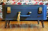 Faites votre propre Table de café Valise Vintage